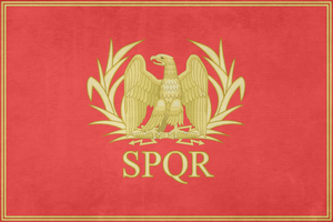 [Request] Flag of the Roman Empire by Lyniv