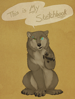 This is MY sketchbook by CunningFox