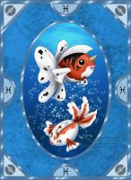 Pokemon Zodiac Signs - Pisces by SaraJArts