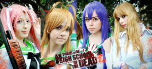 High School of Dead - Girls by cosplayculture