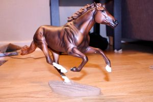Breyer - Smarty Jones by CrocodileRawk