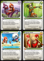 cartes draft wakfu TCG by forkmotion