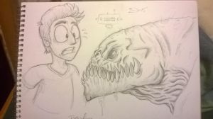 Monster sketch by zones-productions