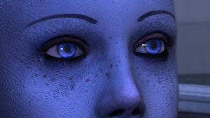mass effect liara's eyes by sanchez752