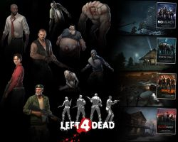 Left 4 Dead Wallpaper by PaintballHitman