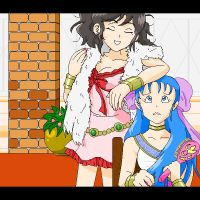 DQ5 - I'm More Beautiful by Omega-Wolf-Kamui