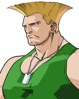 Guile Vector by anubis55