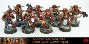 Pre-Heresy Thousand Sons Squad by Proiteus