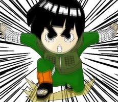 Rock Lee by Dandeeman