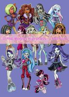 Monster High PNG pack MiaMH25 with MilicaMHpng by MilicaMHpng