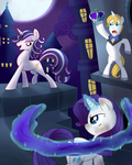 Rarity Antimony This Platinum Crown Commission by CapnChryssalid