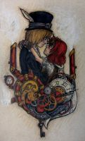Steampunk Valentine by Rica-Fox-Prower