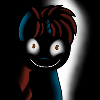 creepy crimson is creepy by MLP-Scribbles