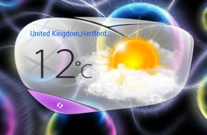 Oppo Find 5 Small Weather HD for xwidget by jimking