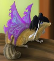 Chipmunk Fairy by kaolincash