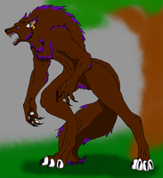 Aleks as a werewolf by ColdBlod23