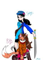 Saben and Rita- 2007 Style by Rockgirl-Savvy