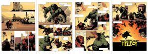 Hellboy Sequential a Hot Day by HectorRubilar