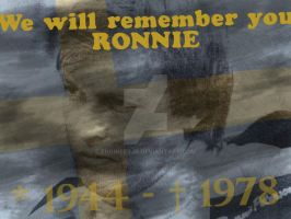 Tribute to Ronnie by engineerJR