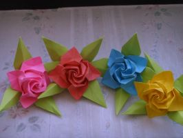 Paper Roses by Sora84