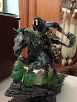 darksiders 2 statue close up X3 by shadowthehedgehogzx