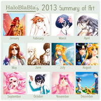 2013 Art Meme by HaloBlaBla