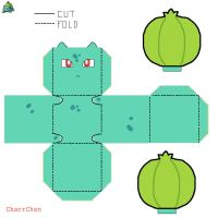 Bulbasaur Paper Craft by CharrChan