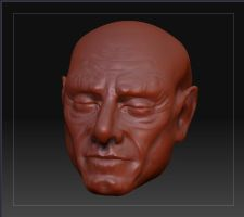 my first try in ZBRUSH3 by MichelRipetti