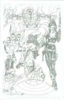 Avengers 2011 by RadPencils