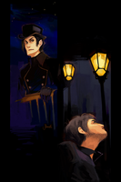 les miserables - javert and valjean by shorelle