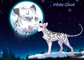 Lieon the white ghost by RukiFox