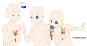 Ice Cream Base by Mint-Elf-Bases