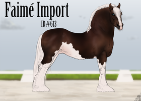 #613 Faime Import - purpleshadowbooster by emmy1320
