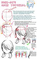 Anime Hair Tutorial by suri-ai