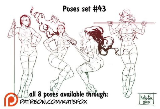 Pose study 43 by Kate-FoX