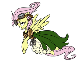 Fluttershy Commish WIP by PashaPup