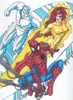 Spider-Man and his Amazing Friends by RobertMacQuarrie1