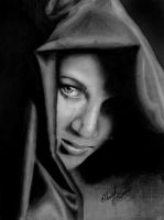 charcoal portrait by mathio91