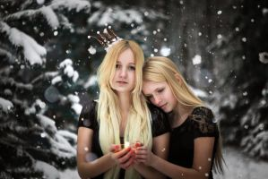 White sisters III by lightlanaskywalker