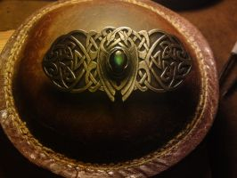 celtic belt buckle by RhouenRhu