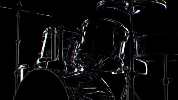 Reflective Drumkit by sime242