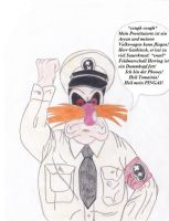 Dr. Ivo Robotnik's The Fat Dictator by catsfriend12