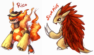 Rico and Scorpius recruitment by Pannzilla