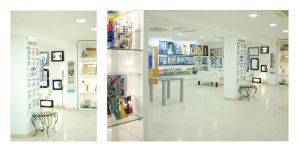 Maltese glass shop by narabia