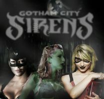 UnholyTrinity as Gotham City Sirens by limited08