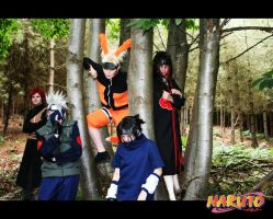 Naruto - Scary Lookin' Bunch.. by SpiralFishcakes