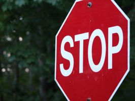 Stop sign by P8ntBal1551