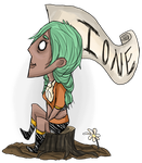 Ione don't starve by Cino-Checker