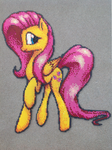 {Perler} Fluttershy is a Natural Beauty by OddishPonyGirl