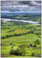 View over Tittesworth Water by MikiMundi